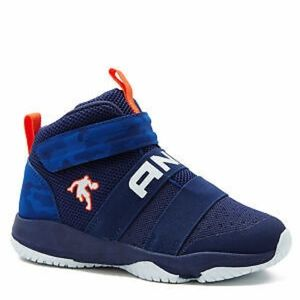 Boys AND1 Blindside Navy Athletic Shoes Basketball